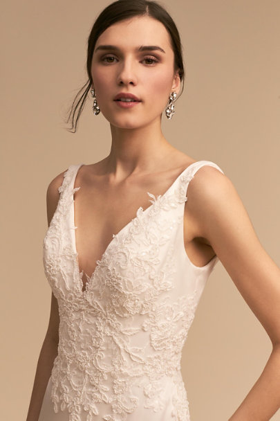 Whispers & Echoes Ivory Oceana Gown | BHLDN
