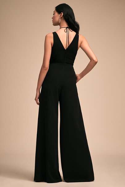 Jill Stuart Black Bryant Jumpsuit | BHLDN