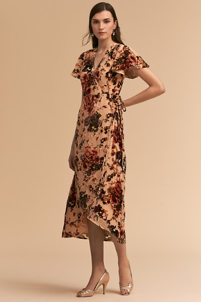 BHLDN Floral Burnout Thrive Dress | BHLDN
