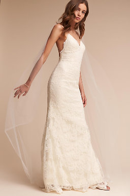 All lace wedding dresses images