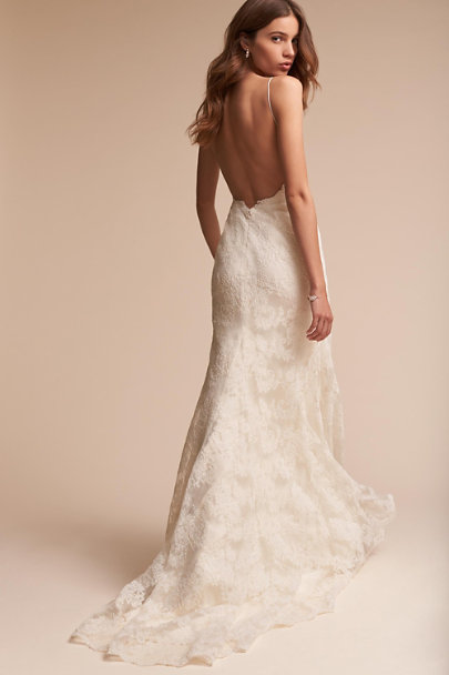 Watters Ivory Inez Gown | BHLDN