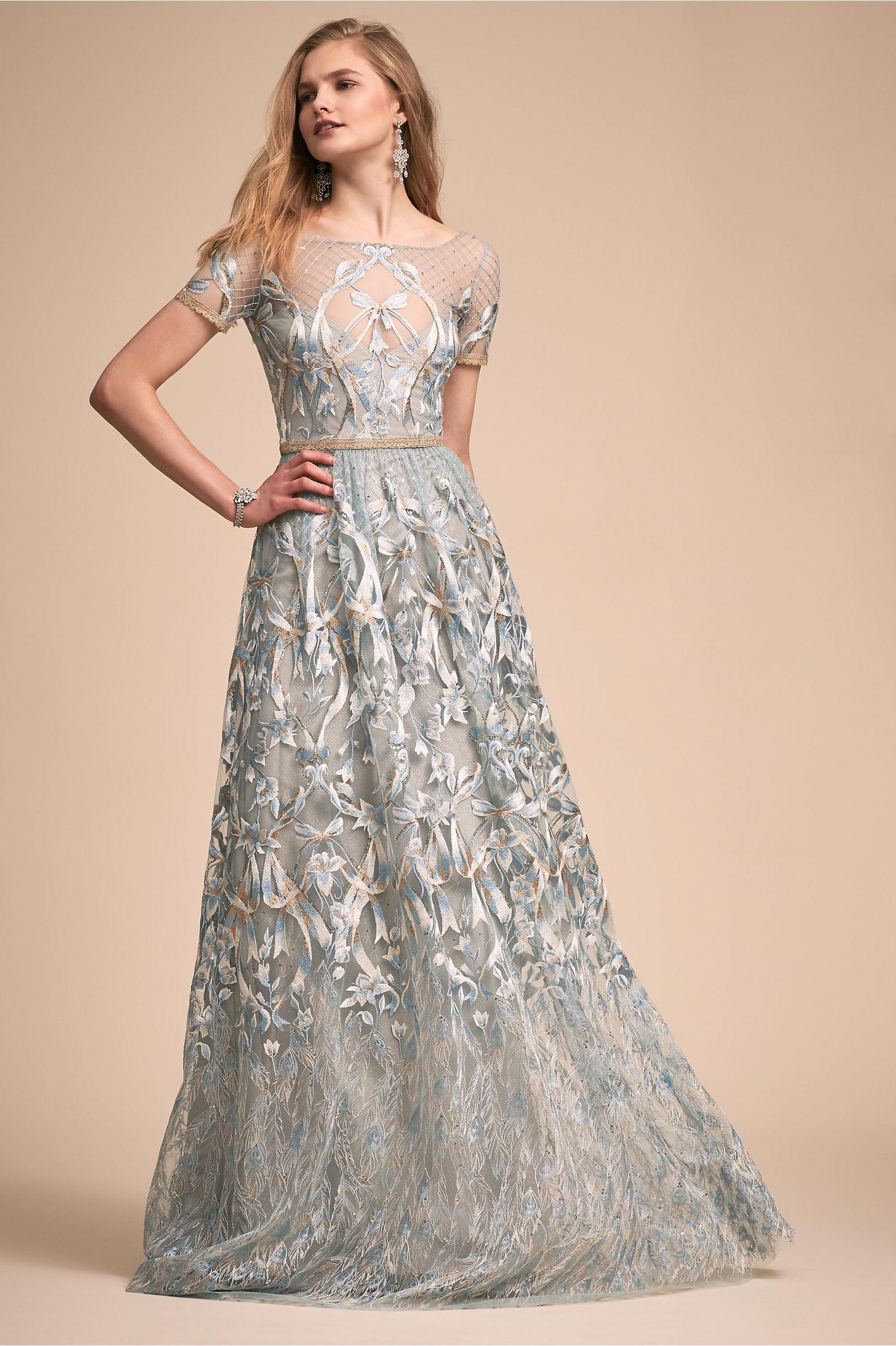 Light Blue Gown
