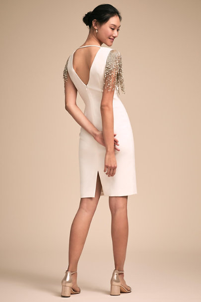 Badgley Mischka Ivory Sophisticate Dress | BHLDN
