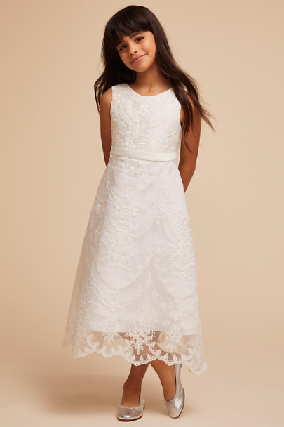 Princess Daliana Ivory Missy Dress | BHLDN