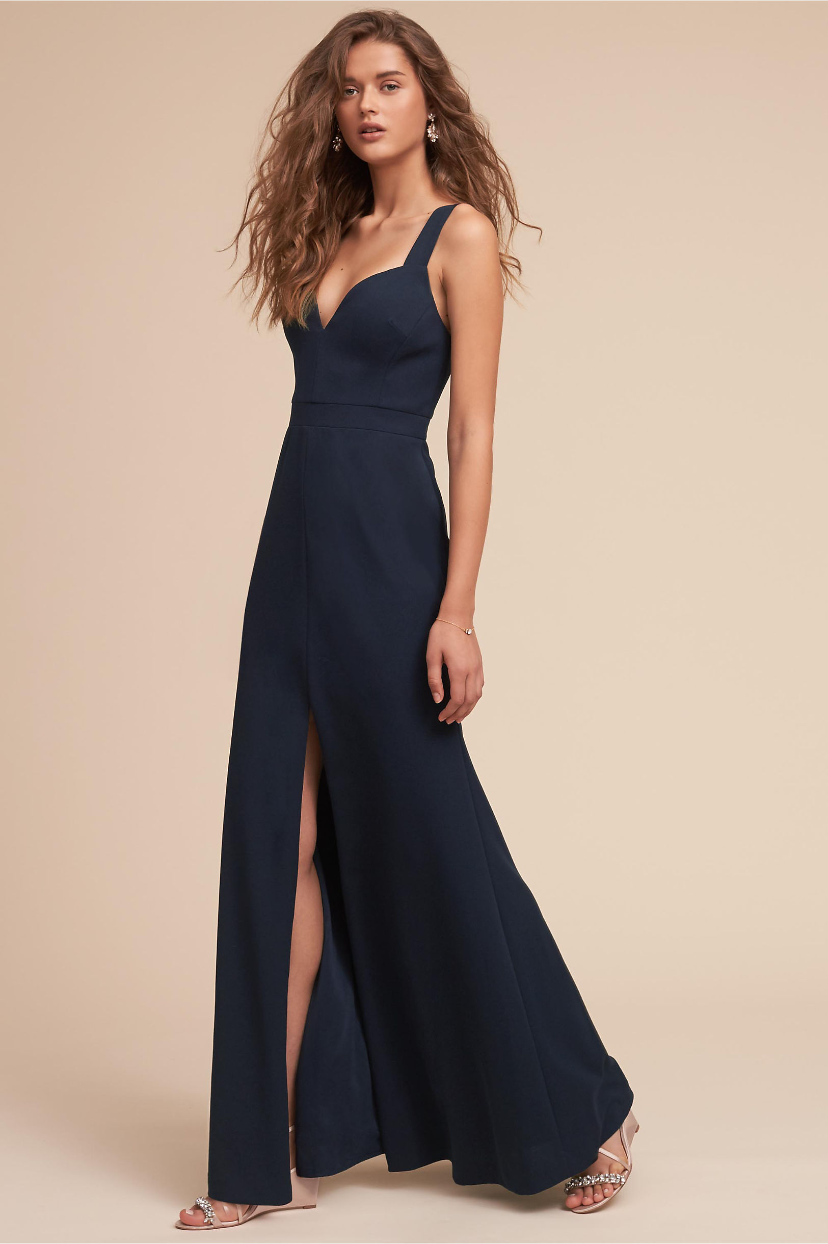 Ansel Dress Navy in Bridesmaids & Bridal Party | BHLDN