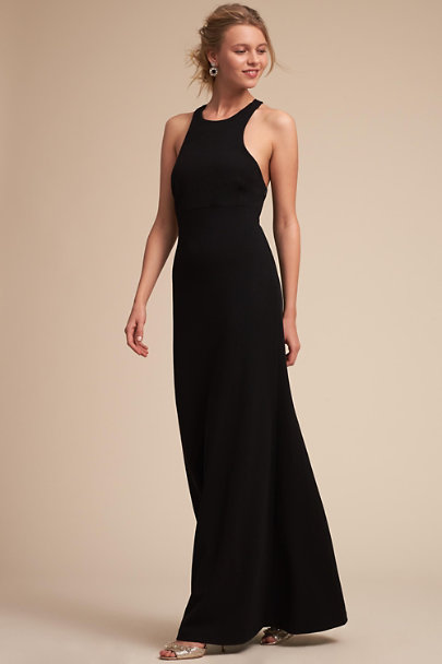 BHLDN Black Selina Dress | BHLDN