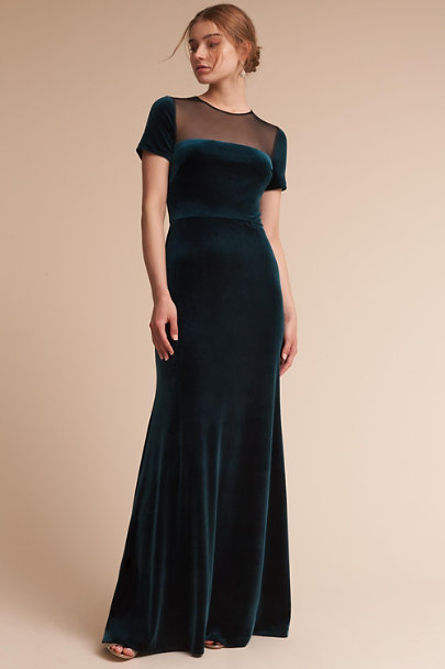 c2375c77ea14 BHLDN Pine Green Katia Dress