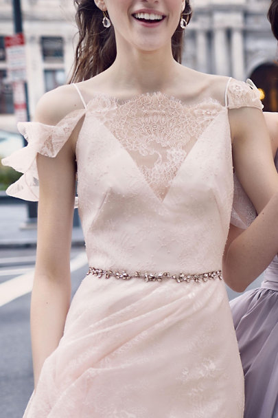 Blossom Gold Ivy Fitted Belt | BHLDN