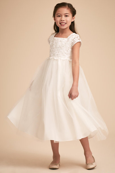 Sweetie Pie Ivory Camille Dress | BHLDN