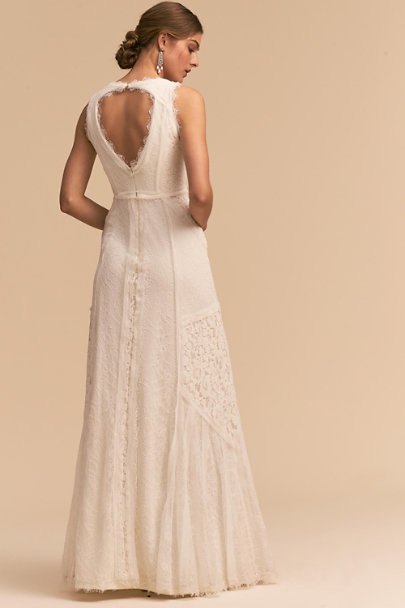 Heartloom Belle Ivory Felix Gown | BHLDN
