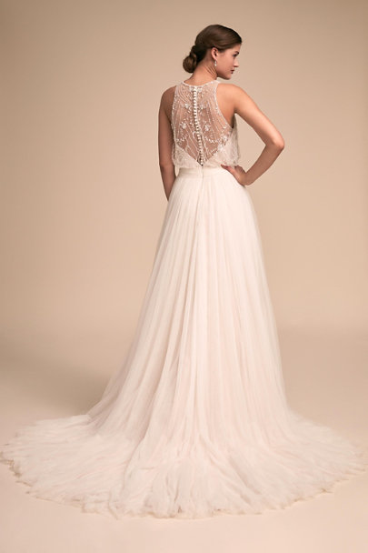Whispers & Echoes Ivory Lovespell Gown | BHLDN
