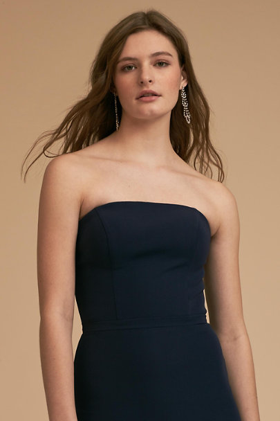 BHLDN Navy Tess Dress | BHLDN