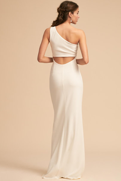 Katie May Ivory Gwyneth Dress | BHLDN