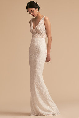 Sheath column wedding dresses bhldn indiana gown indiana gown junglespirit Choice Image