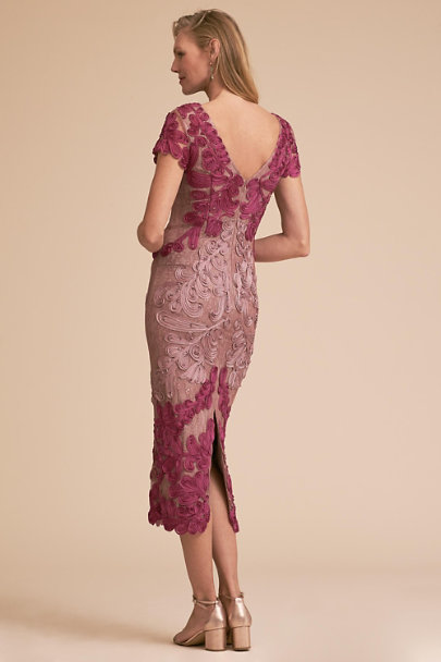 JS Collection Punch/Mauve Santiago Dress | BHLDN