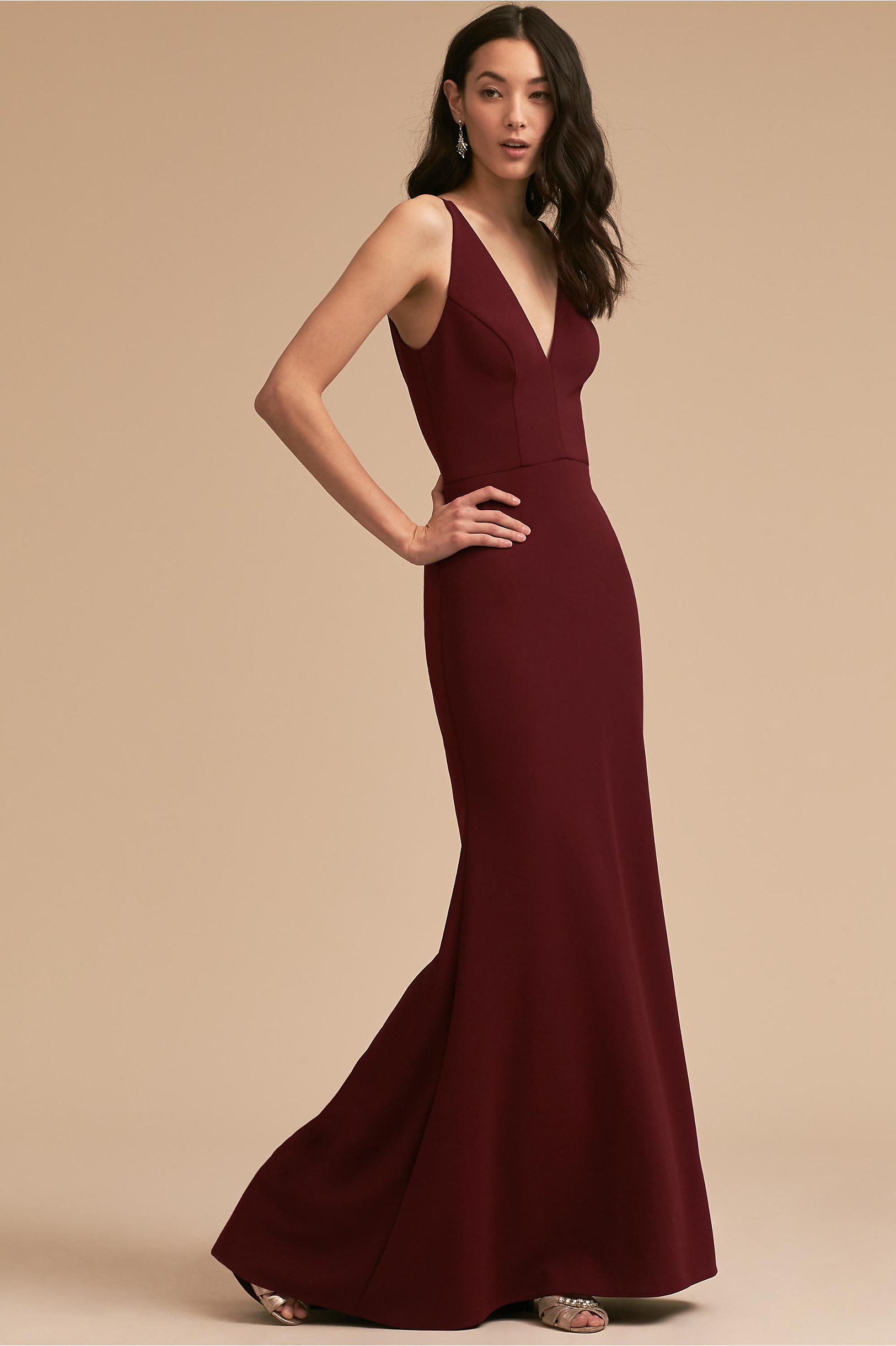 Long bridesmaid dresses gowns chiffon styles bhldn jones dress ombrellifo Images