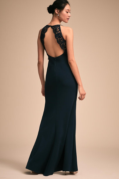 BHLDN Navy Foundry Dress | BHLDN