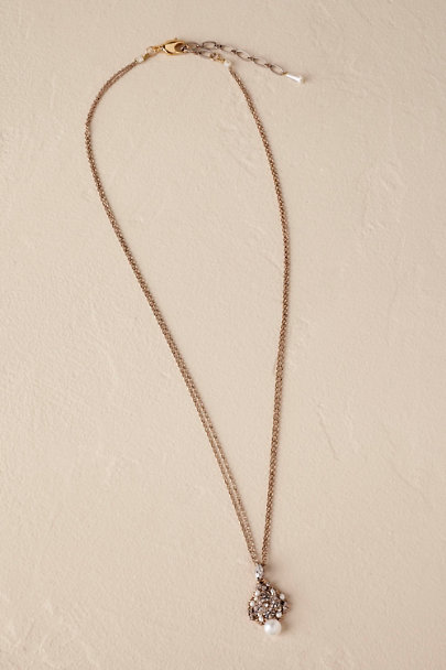 Theia Jewelry Gold Curio Necklace | BHLDN