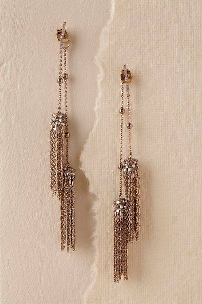 Gold Marcella Earrings | BHLDN