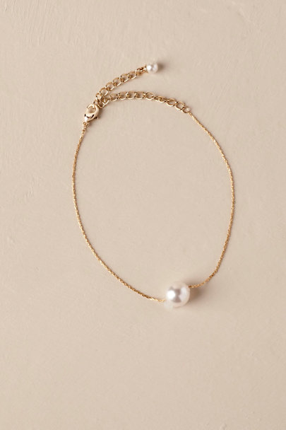 Theia Jewelry Gold Bea Pearl Bracelet | BHLDN
