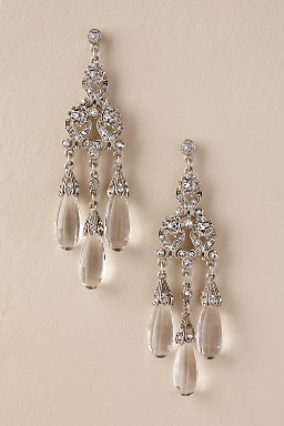 Jewelry for brides wedding jewelry bhldn maja chandelier earrings junglespirit Image collections