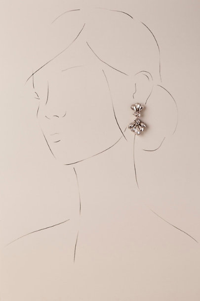 Deepa Silver Quinn Drop Earrings | BHLDN