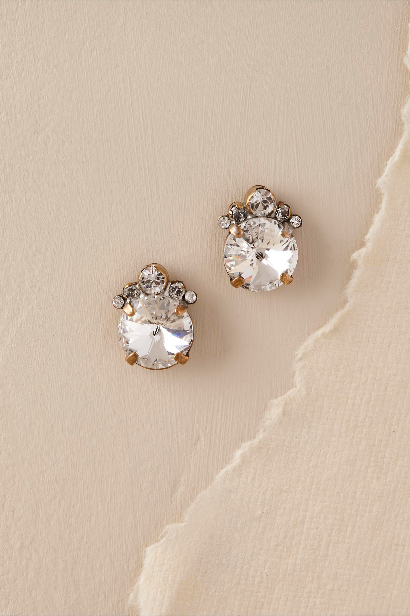 Anthropologie Looking Glass Studs HFEg5ANm