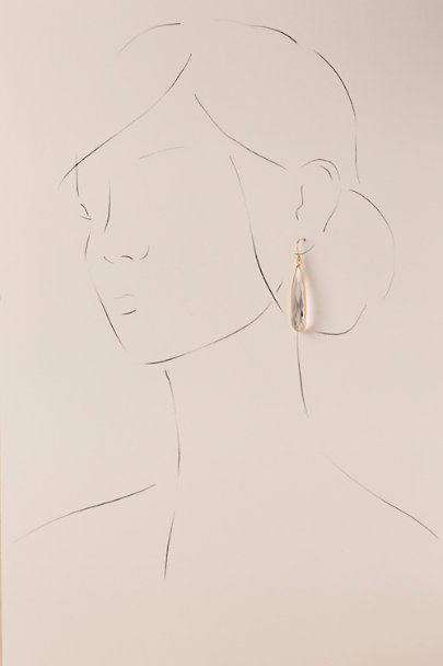 Gold Johanna Drop Earrings | BHLDN