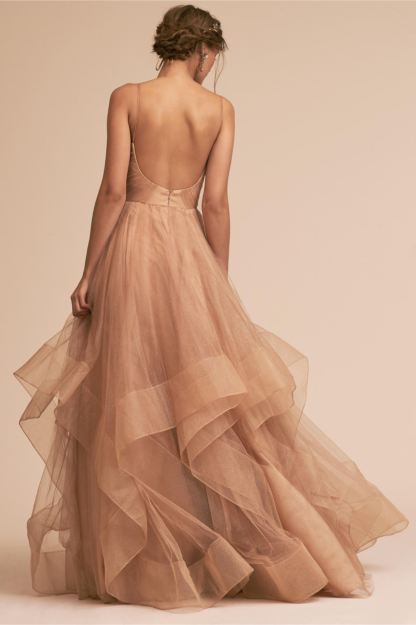 Chantelle Dress Gold in Occasion Dresses | BHLDN
