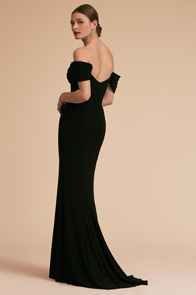 Terani Couture Black Mareeka Dress | BHLDN