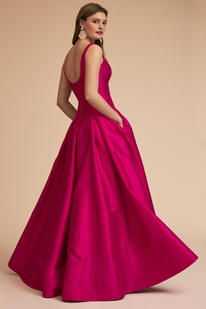 Whispers & Echoes Fucshia Nolan Dress | BHLDN