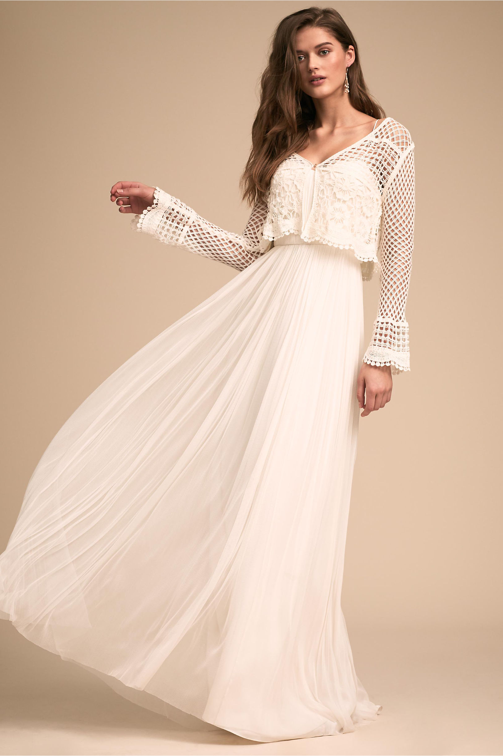 For Formal Wedding Dress with Cardigan