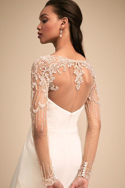 Whispers & Echoes Nude Lucetta Tucker | BHLDN