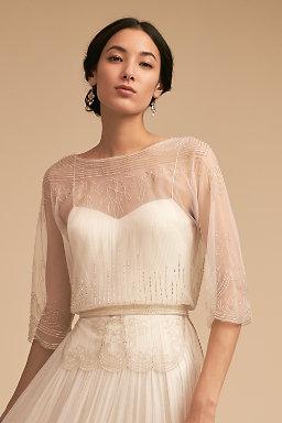 Wedding Dress Cover Ups & Wedding Boleros   BHLDN