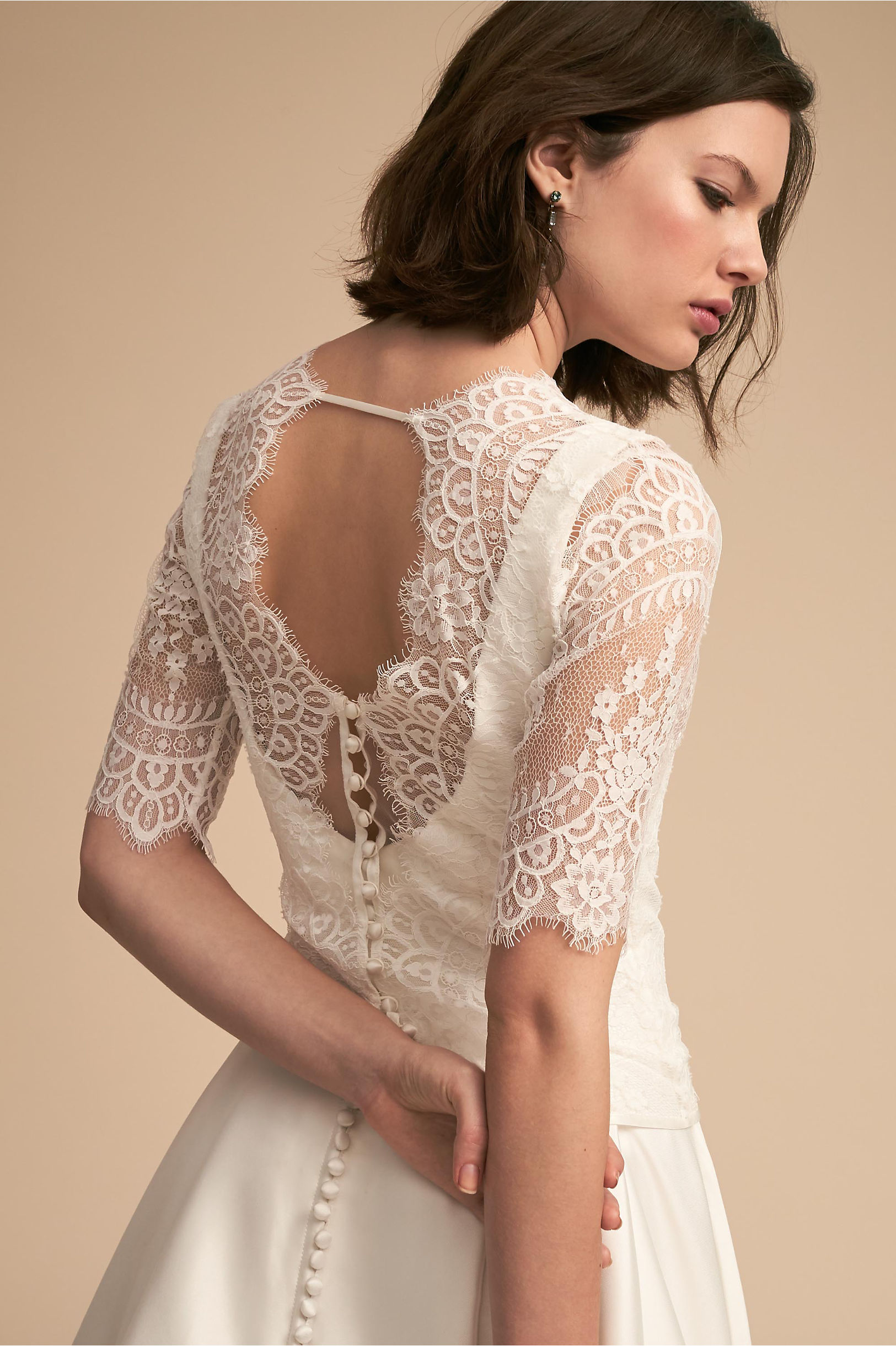 Kelis Topper Ivory in Sale | BHLDN