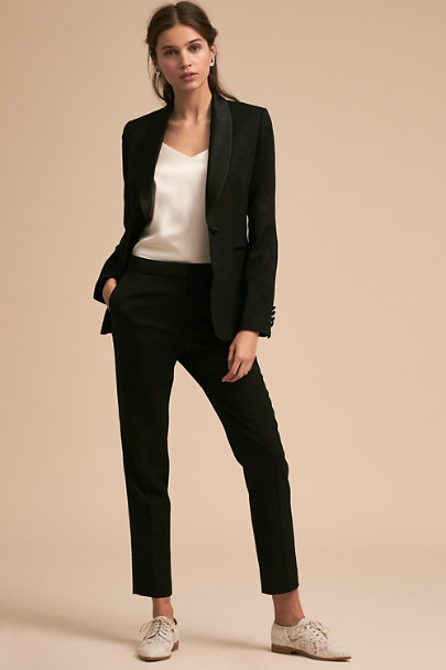 The Black Tux Black Kipp Pant | BHLDN