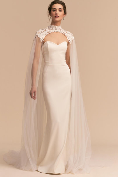 Eddy K Ivory Vincent Cape | BHLDN