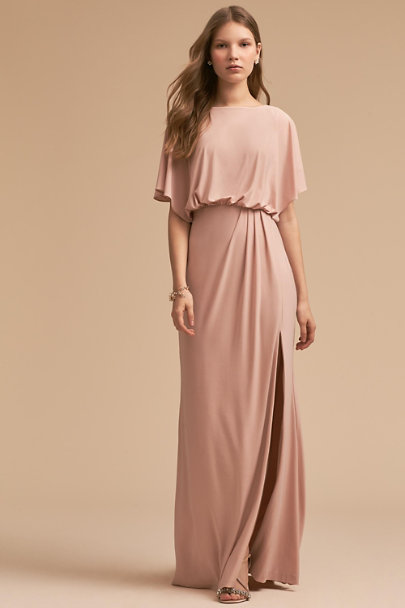 BHLDN Blush Lena Dress | BHLDN