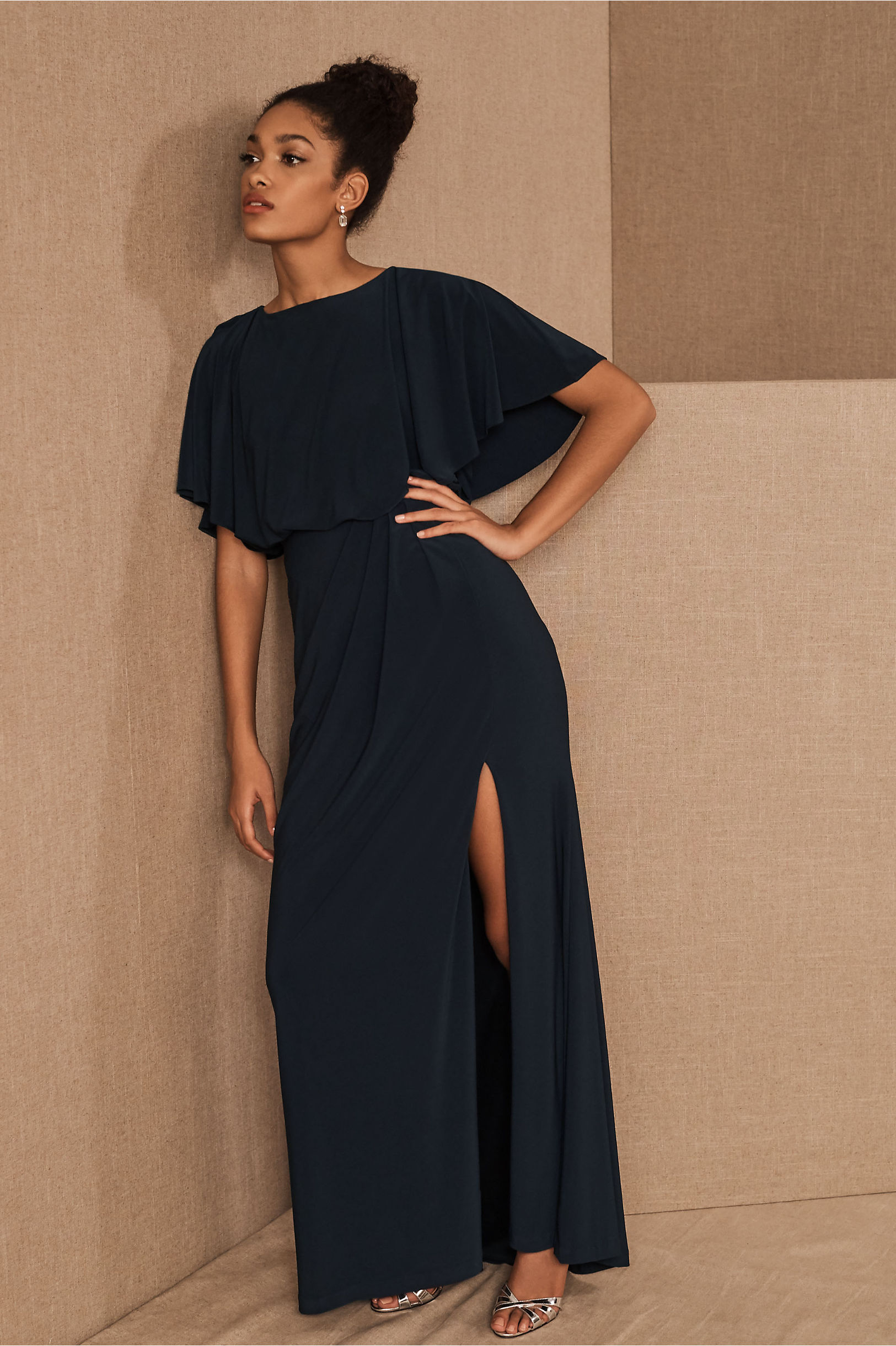 Lena Dress Navy in Occasion Dresses | BHLDN