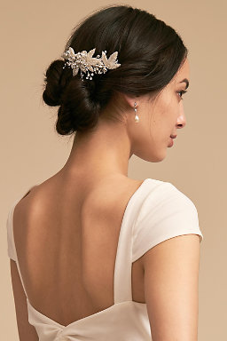 Wedding hair accessories bohemian hair accessories bhldn marguerite comb marguerite comb junglespirit Image collections