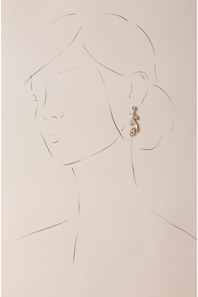 Camilla Christine Gold Kyra Drop Earrings | BHLDN