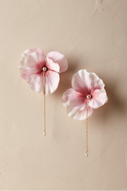 Blushing Cherry Blossom Earrings