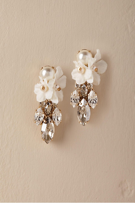 Orchid Waterfall Earrings