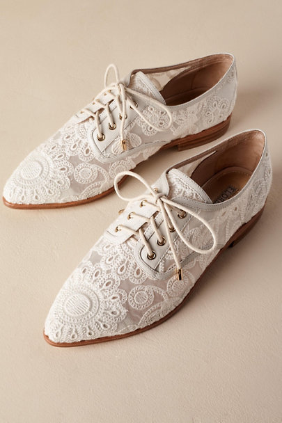I Am Florence Ivory Agnes Oxfords | BHLDN