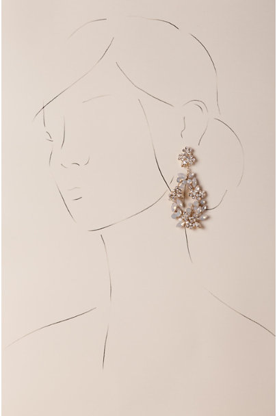 Twigs & Honey Gold Kora Chandelier Earrings | BHLDN