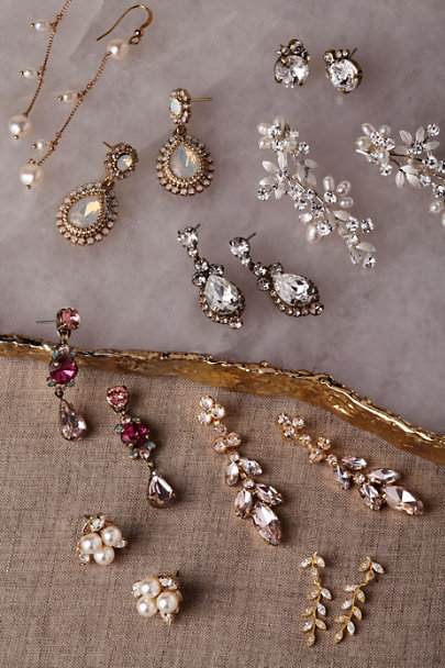Sorrelli Gold Constanze Earrings | BHLDN
