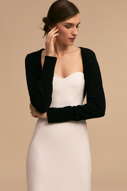 Ivy & Aster Black Lowell Shrug | BHLDN