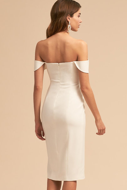 Jay Godfrey Ivory Adler Dress | BHLDN