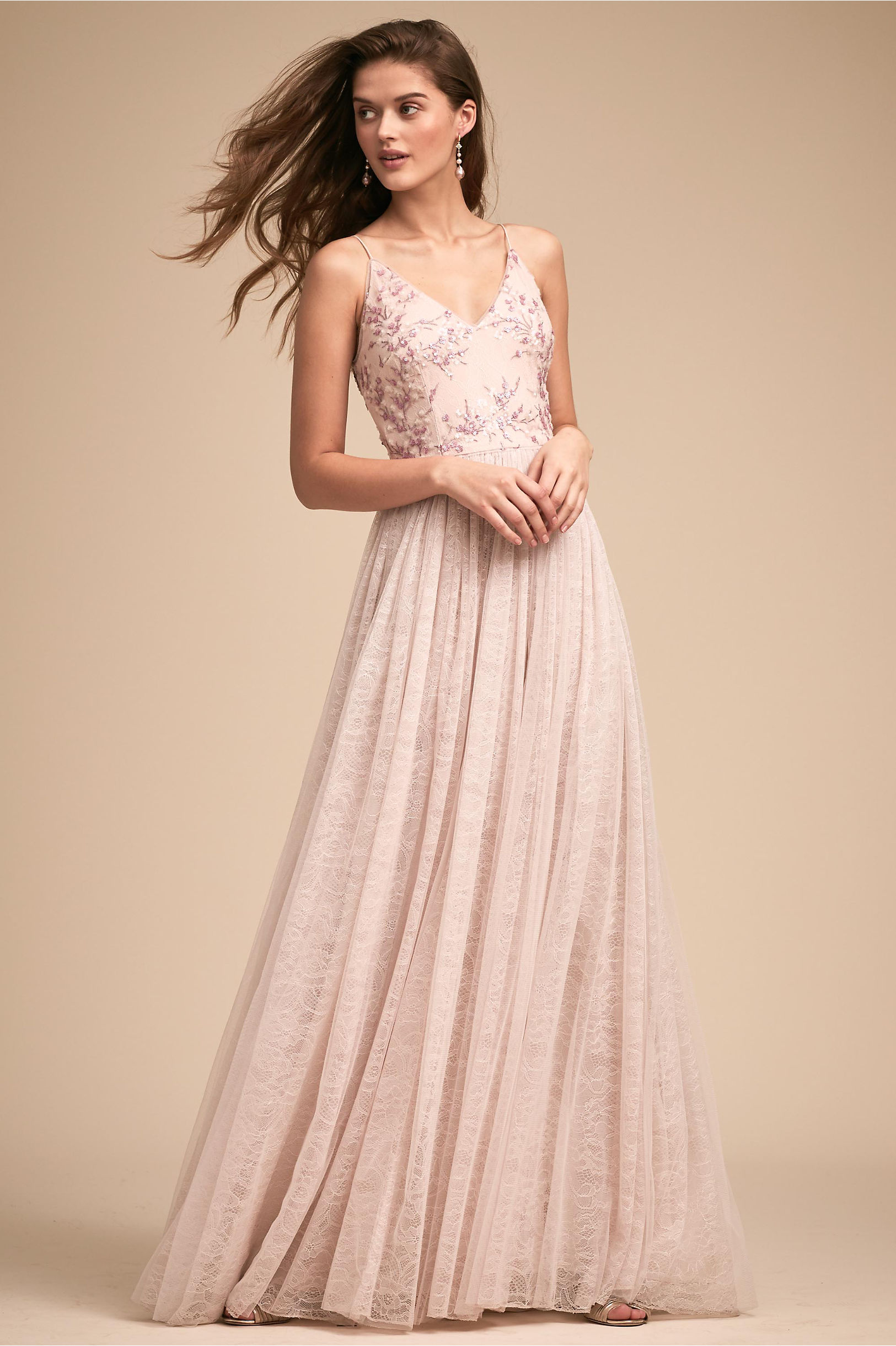 Cluny Dress Pink in Bridal Party | BHLDN