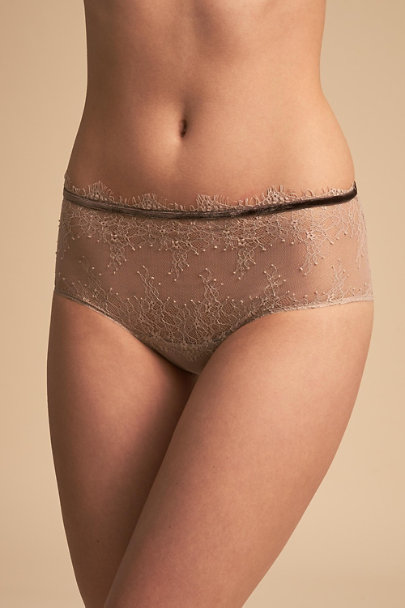 Amoralle Beige Spruce Brief | BHLDN